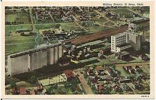 Milling District in El Reno OK Postcard