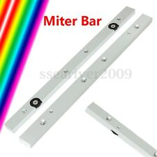 "12"" 300mm Table Saw Router Aluminium Alloy Miter Gauge Slider Rail Miter Bar Rod"