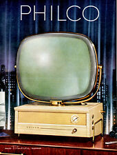 PHILCO PREDICTA TV 1950s Model 4242  Advertisment  8 x 10 Giclee print