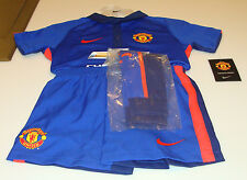 Manchester United 2014-15 XS Age 3/4 Little Boys Soccer Kits Jersey Shorts Socks