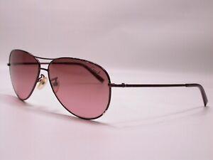 Authentic COACH Juliana Purple Aviator Sporty Luxury Sunglasses Frames