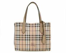 Burberry 4049585 Small Reversible Handbag Tote - Beige