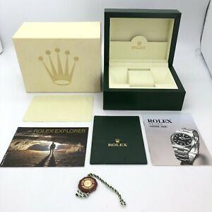 Rolex Genuine Explorer watch box case 30.00.71 Small Booklet Card case B0912013