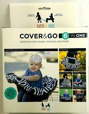 Shopping Cart Nursing Cover Tote & More Maya & Max 6 in 1 Cover & Go All In One