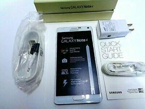 Samsung Galaxy Note 4 SM-N910V - 32GB - White Frost (Verizon) Smartphone