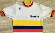 ORIGINAL vintage TEAM COLOMBIA double sided WILSON CYCLING JERSEY