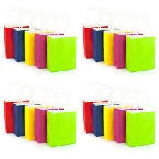 Papier Tüten Taschen Geschenktaschen 20 Stk. mit Tragegriff verschiedene Farben
