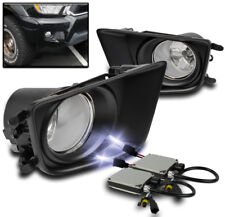 2012-2015 TOYOTA TACOMA BUMPER CLEAR DRIVING FOG LIGHT+COVER+HARNESS+10K HID SET