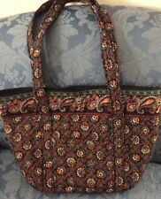 "VERA BRADLEY  PADDY  BAG   ""BLACK COLLETTE""  PRE-OWNED/EXCELLENT   U.S.A."