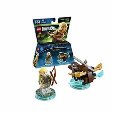 The Lord of The Rings Legolas + Arrow Launcher Fun Pack 71219 Lego Dimensions !!
