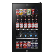 More details for baridi 80l under counter beer, drinks & wine fridge, lock, 110xcans 474x840mm