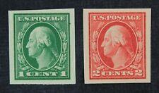 CKStamps: US Stamps Collection Scott#408 409 Washington Mint NH OG