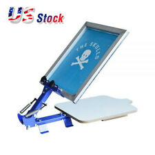 US Stock, 1 Color 1 Station T-Shirt Silk Screen Printing Machine