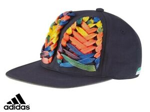 Adidas Stella McCartney Stellasport Rainbow Lace Baseball Hat New