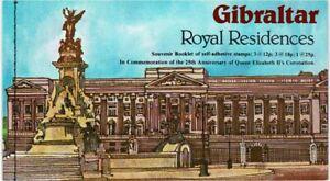 GIBRALTAR 1978 25TH ANN CORONATION QUEEN ELIZABETH II BOOKLET MINT CONDITION
