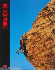 Lot Of 2 Posters:Sports :Rock Climbing :Global Highs -Free Ship #Pg4013 Lw9 K