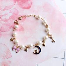 Sailor Moon Bracelet Freshwater Pearl Bracelet Special Gift for Grils 8 Inch New
