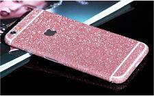 Full Body Front & Back Matte Glitter Sticker Case For iPhone 4S 5S 5C 6S 6 Plus