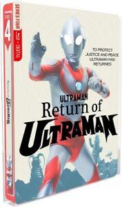 RETURN OF ULTRAMAN THE COMPLETE SERIES New Sealed Blu-ray Steelbook Packaging