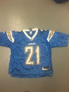 NFL San Diego Chargers Football Jersey, #21, LaDanian Tomlinson Size Adult Large