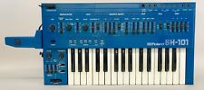 ROLAND SH-101 BLUE Vintage Analog Synthesizer Great Condition w/ Grip 100-240V