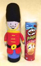 Christmas Nutcracker Soldier Smarties Sweet Holder 22 cms KNITTING PATTERN