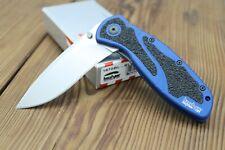 *RARE* Kershaw Blur 1670BL Blue Folding Knife