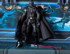 Star Wars Figura 2006 saga Darth Vader Casco Removible Cúpula Batalla De Hoth
