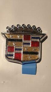 NOS 85-99 Cadillac Roof Panel Emblem Brougham Deville Eldorado GM# 3540652