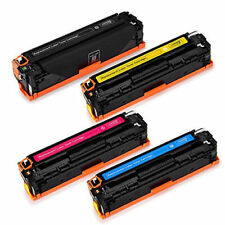 4 Generic HP125A Toner Cartridges CB540-CB543 for HP CP1518,CM1312,CP1210,CP1510