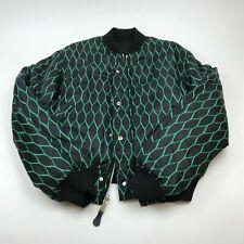 KENZO X H&M REVERSIBLE BOMBER JACKET 3539996 BLACK/GREEN MEN'S SIZE SMALL