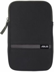 """GENUINE ASUS 7"""" Tablet Zippered Waterproof BLACK Cover Case Pouch Zip Sleeve NEW"""