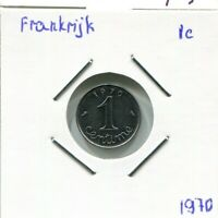 1 CENTIME 1970 FRANCE French Coin #AM711GW