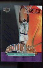 2000-01 Upper Deck Slam Signature Slams Baron Davis Signed Autograph Card Auto