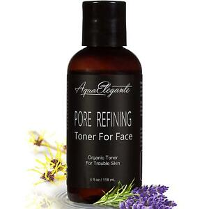 Pore Refining Toner For Face - Organic Hydrating Serum - To Calm Oily Skin