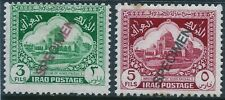 """Stamps IRAQ (1941) """"SPECIMEN"""" Scot 81,83 SG 210-212 NOT listed Extremely RARE"""