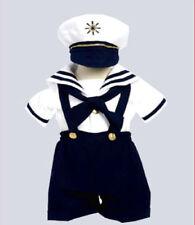 Boys sailor suit outfit navy infant toddler matching hat full set fleet week