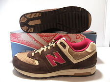 New Balance 578 Classic Low Sport Sneakers Women Shoes Brown/Red Size 11 New