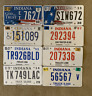 Lot of Indiana Specialty License Plates 3yrs+ truck, in god we trust, handicap