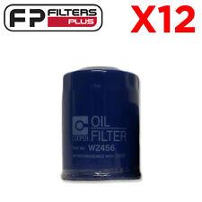12 x WZ456 Wesfil Oil Filter - Mitsubishi 380, Magna, Pajero - Z456, MD321589