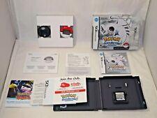POKEMON SoulSilver Version (Nintendo DS 2010) Rare BIG Box! w/ POKEWALKER RPG
