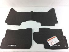048T8-CHARL Nissan Xterra Floor Mats 3-Piece Set  NEW OEM!!  048T8CHARL