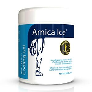 Arnica Ice Muscular Relief Cooling Gel 475ml | Pre & Post Workout Muscle Rub