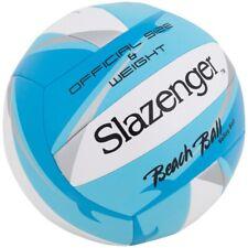 BEACH BALL VOLLEY SLAZENGER - BLEU - TAILLE OFFICIELLE - SPORT & LOISIRS - NEUF