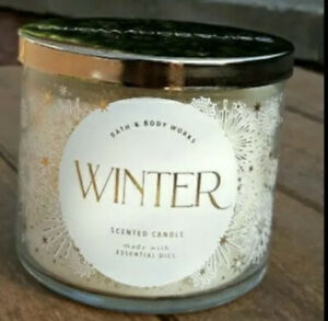Bath & Body Works WINTER Large 3-Wick 14.5 oz Candle NEW