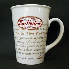 Tim Hortons Always Fresh Toujours Frais Limited Edition 009 Cup / Mug