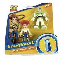 Toy Story 4 Buzz Lightyear and Jessie Fisher-Price Imaginext Disney Pixar