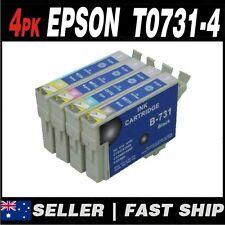 Set of 4 T0731-4 Compatible Ink for PRINTER Stylus C79 C90 C110 CX3900 CX4900