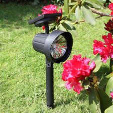 2 Pack Super Solar High Power LED Path Spot Lights | Outdoor Garden Decoration