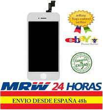 PANTALLA COMPLETA TACTIL LCD PARA IPHONE 5S CRISTAL RETINA DIGITALIZADOR BLANCA